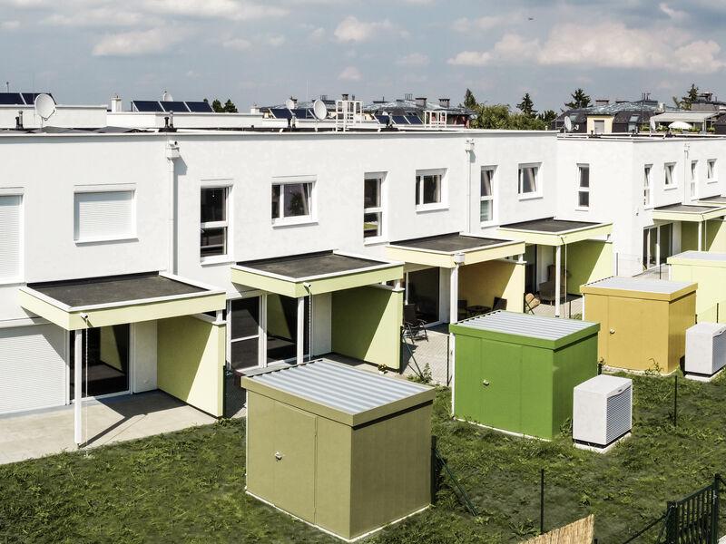 Prefabricated house Reihenhäuser in Brunn am Gebirge