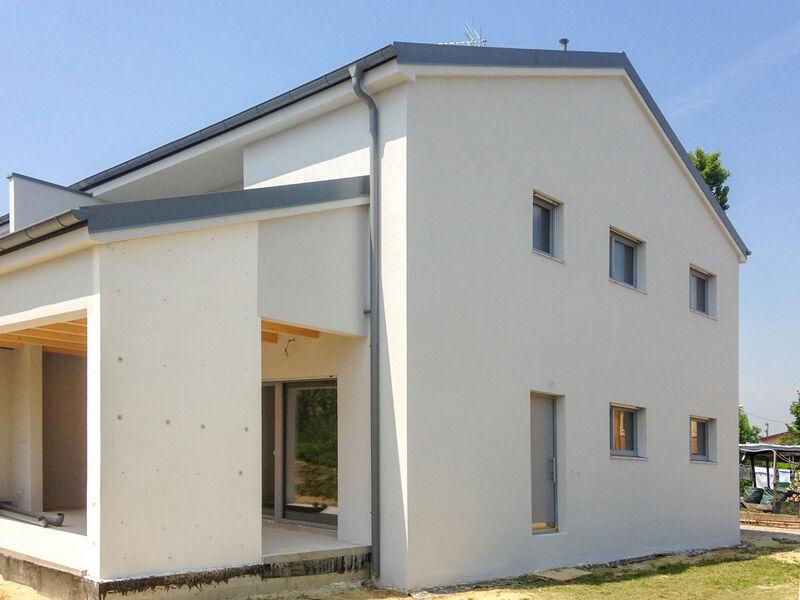 Maison préfabriquée famiglia Riccato e Dal Corso