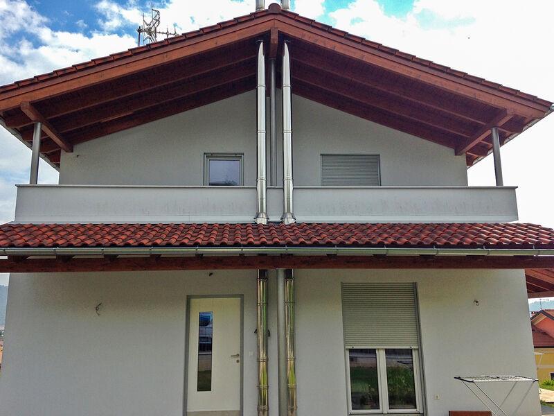 Prefabricated house famiglia Dani