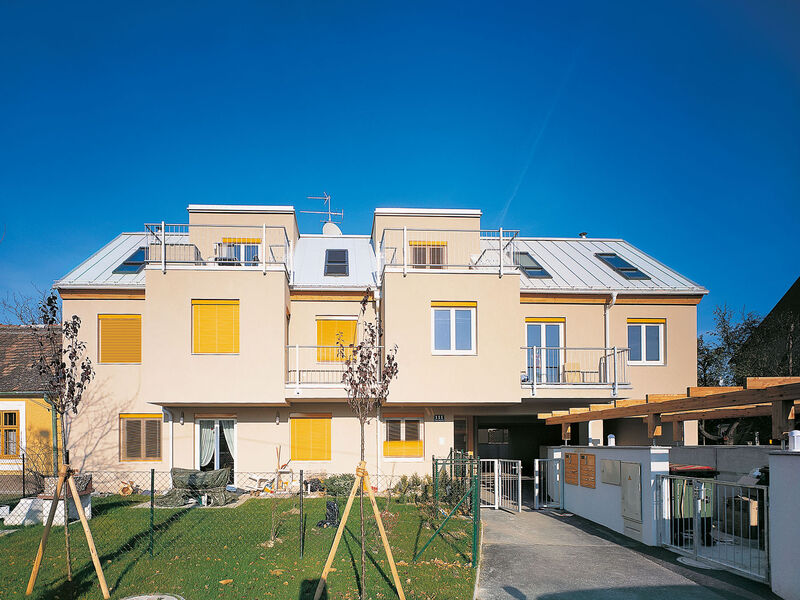 Casa prefabbricata in legno Mehrgeschossige Wohnanlage