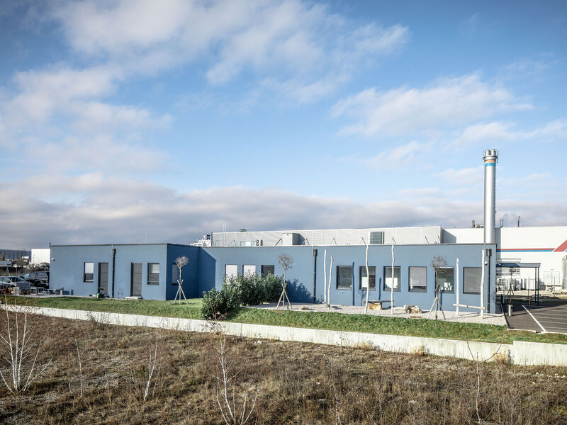 Prefabricated house Tierklinik Wr. Neustadt