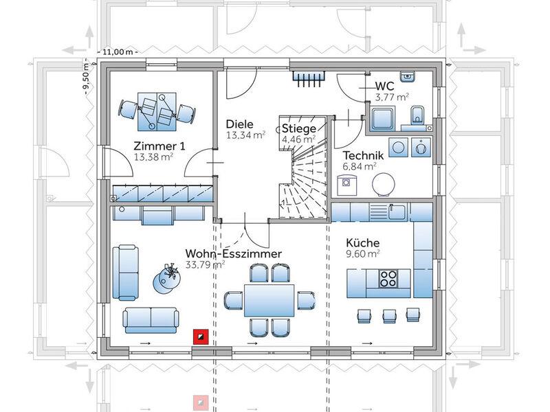 Fertighaus Musterhaus New Design Five