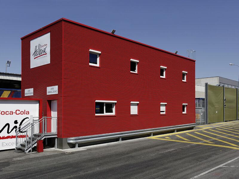 Maison préfabriquée Niedrigenergie Bürogebäude Coca Cola