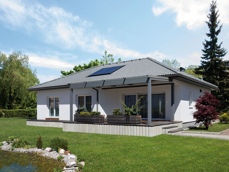 Prefabricated house Musterhaus Bungalow Compact