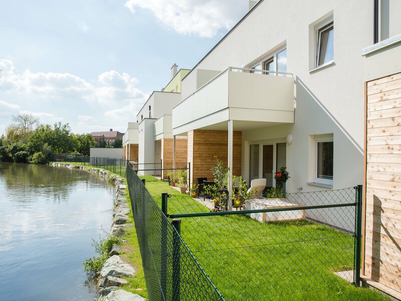 Prefabricated house Wohnhausanlage Eggendorf