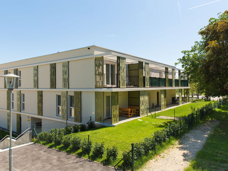 Prefabricated house Passiv-Wohnhausanlage Auersthal