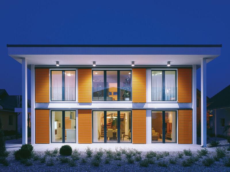 Casa prefabbricata in legno Musterhaus Sunrise