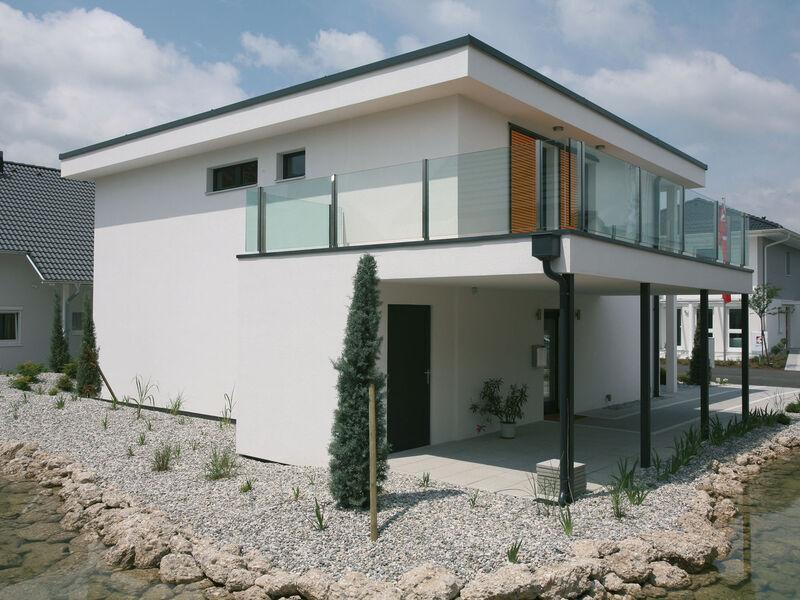Prefabricated house Musterhaus Sunrise