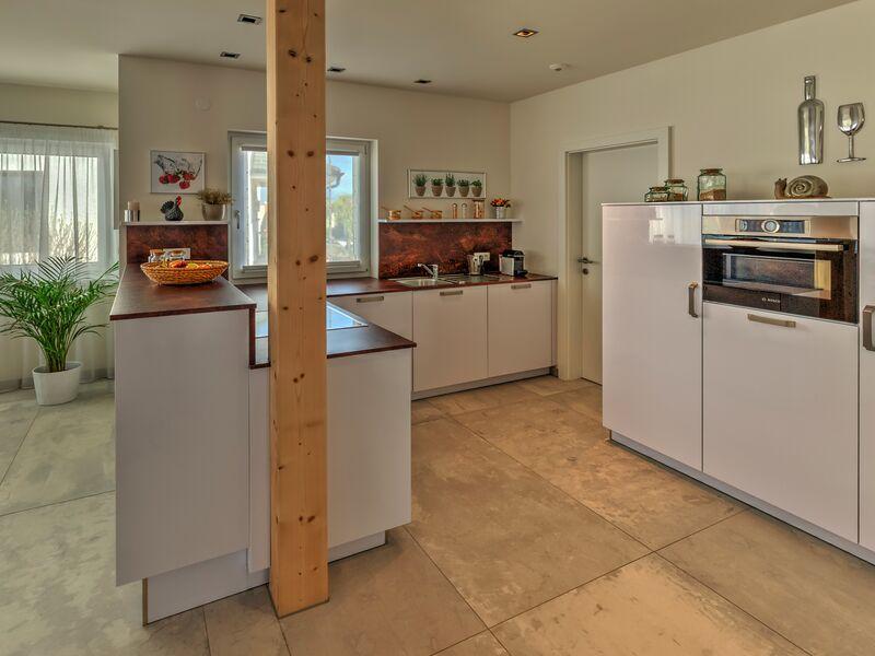 Casa prefabbricata in legno Musterhaus Bungalow S141