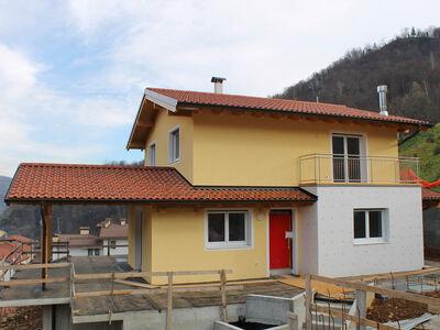 Casa prefabbricata in legno famiglia Dalle Rive