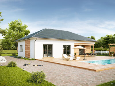 Prefabricated house Family Compact
