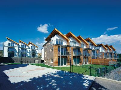 Prefabricated house Passiv-Reihenhaus-Anlage