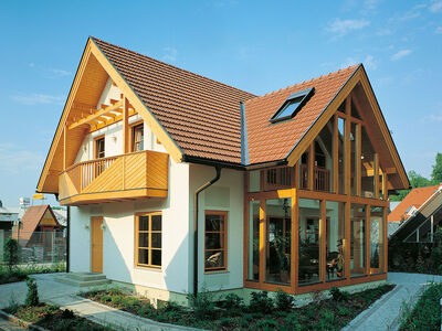 Prefabricated house Familie Schaller