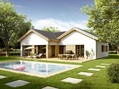 Maison préfabriquée Bungalow Lumia