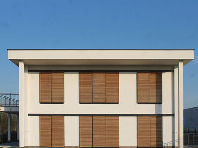 Casa prefabbricata in legno famiglia Lavarini