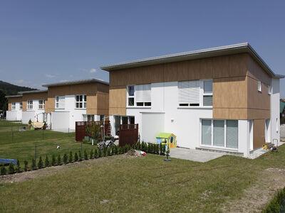 Casa prefabbricata in legno Niedrigenergie-Wohnhausanlage