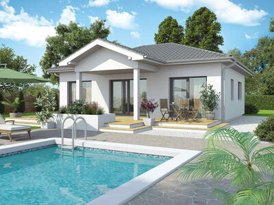 Bungalow New Design 5s con portico incl. terreno