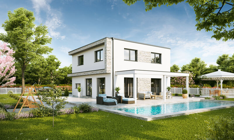 Prefabricated house Family Edition