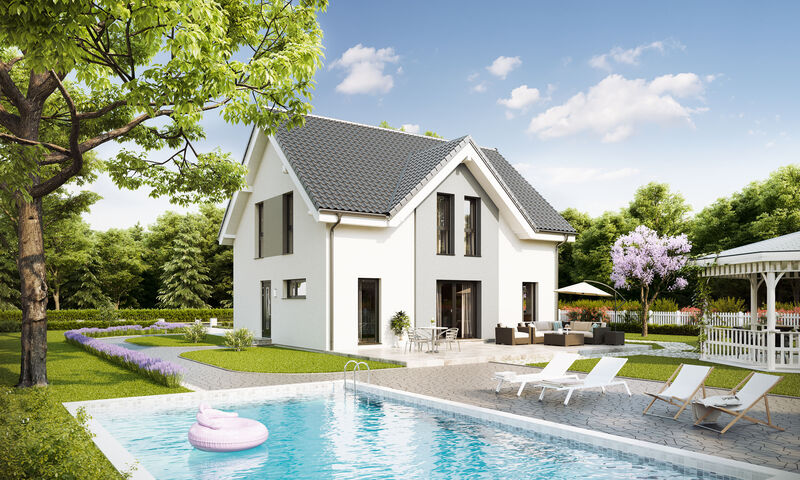 Prefabricated house Family Open