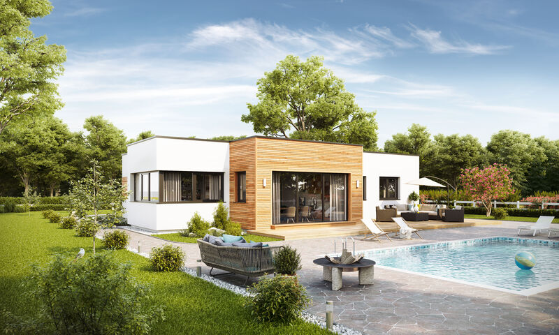 Prefabricated house Bungalow S141 Small