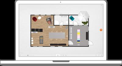 Grundriss des VARIO Fertighauses umplanen mit Roomle