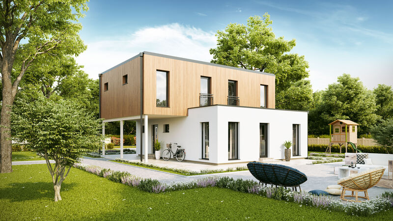 Fertighaus VARIO-HAUS New Design BellaVista