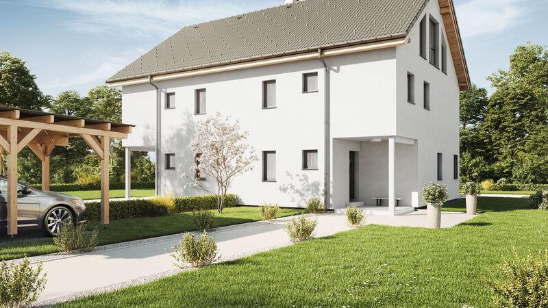 VARIO-HAUS Fertighaus Duplex D113 XL