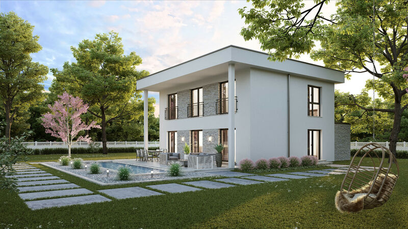 Fertighaus VARIO-HAUS New Design Sunrise